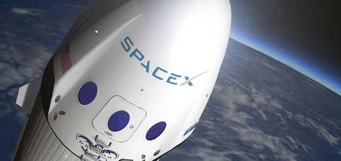 cohete lanzado por SpaceX