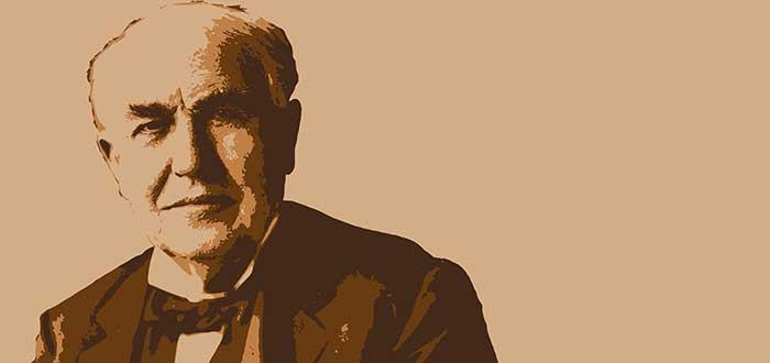 imagen dibujo Thomas Edison