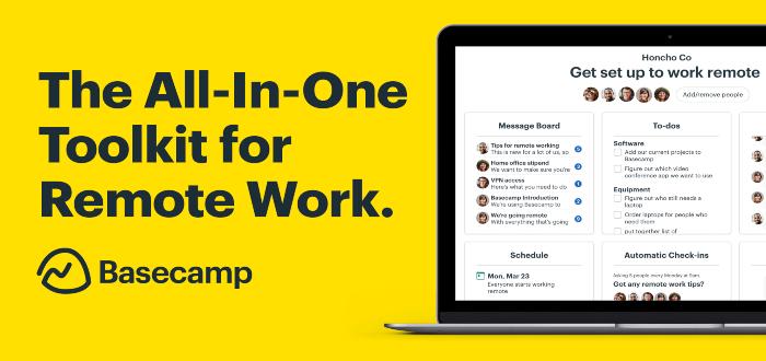 Basecamp es una de las herramientas de productividad
