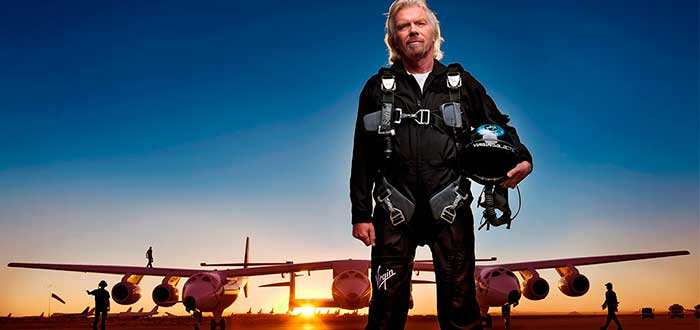 Richard Branson Plane