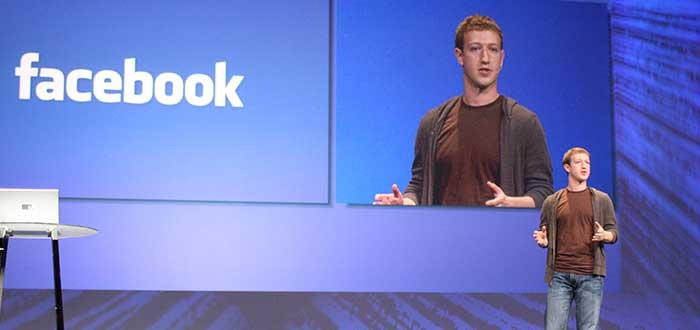 Mark Zuckerberg en conferencia de facebook 2