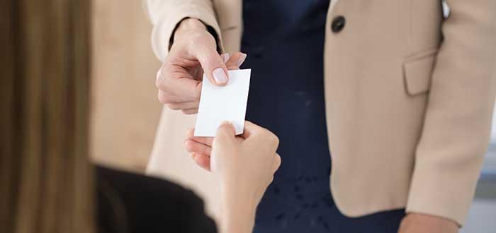Entrega tarjetas