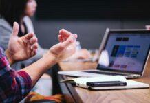 usar de moviles en reuniones de trabajo