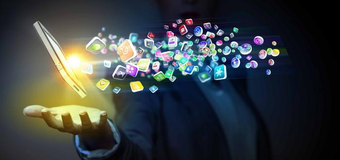 Creacimiento de las aplicaciones móviles