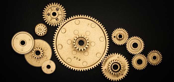 Engranaje de reloj