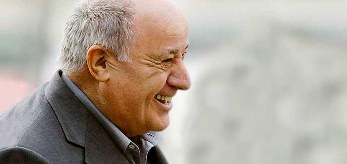 Retrato de Amancio Ortega, quien figura entre los empresarios exitosos