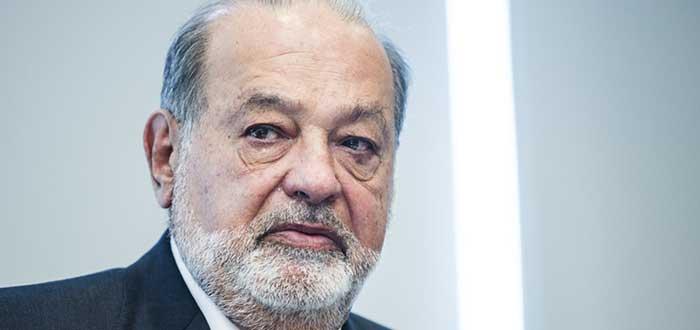 Retrato de Carlos Slim, otro de los emprendedores exitosos