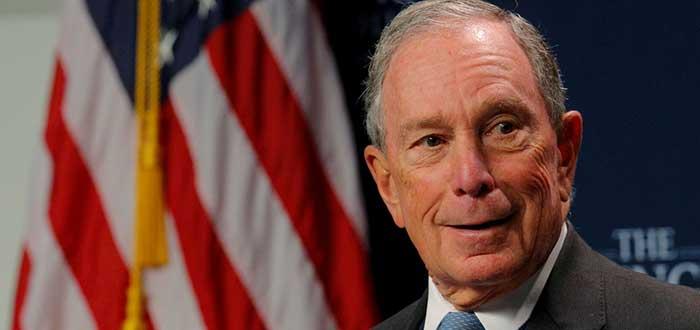 Retrato de Michael Bloomberg, uno d elos empresarios exitosos