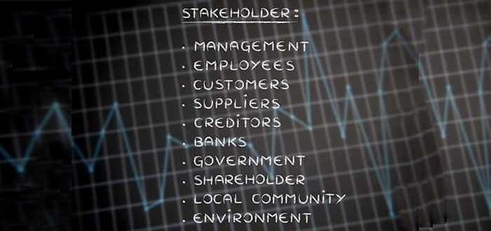 nombre de stakeholder olganizado de mayor a menor