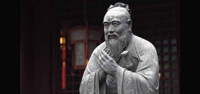 estatua Confucio frases sobre liderazgo