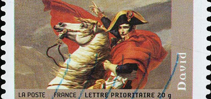 Estampilla napoléon Bonaparte