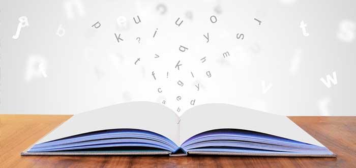 Libro sobre principio de Peter y letras que vuelan