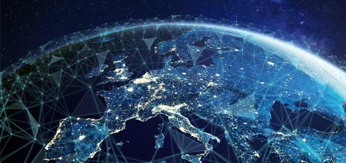 Red de telecomunicaciones en Europa