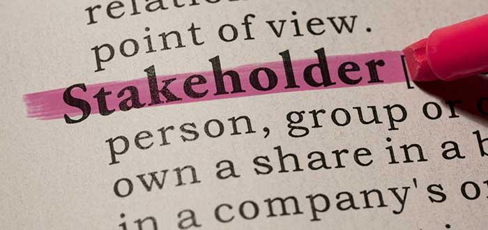 diccionario concepto palabra stakeholder