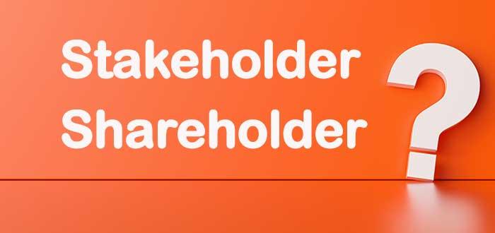 stakeholder shareholder interrogante