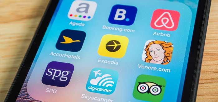 Teléfono celular con aplicaciones