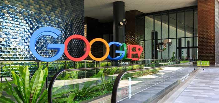 Vestíbulo del edificio de Google