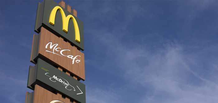 Letreros alusivos a McDonald's