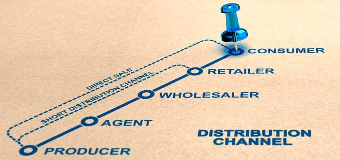 actores que intervienen en los canales de distribución