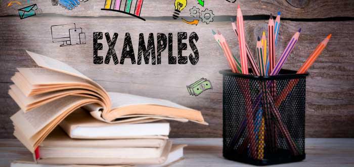 ejemplos y accesorios de escritorio