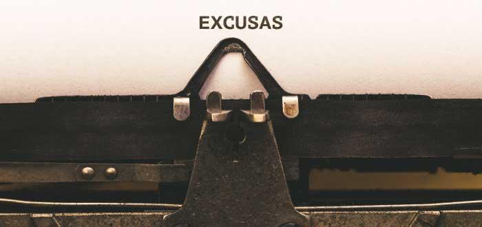 poner excusas es una de las señales que indican que nunca serás exitoso