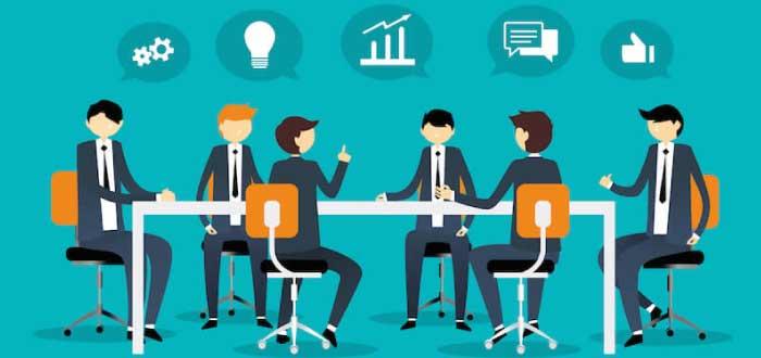 equipo de trabajo generando ideas
