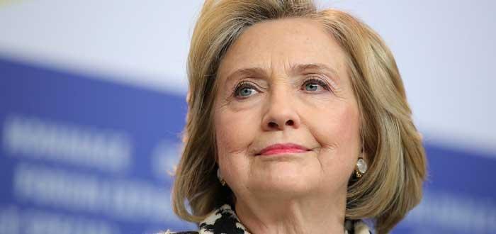 rostro de Hillary Clinton