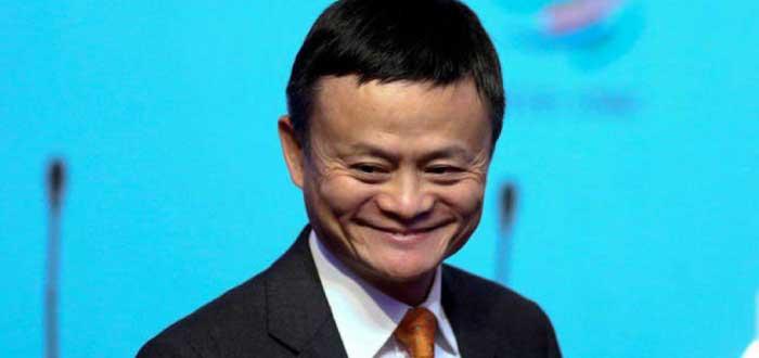 Jack Ma sonriendo