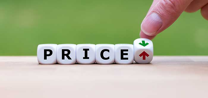 """fichas con la expreción """"price"""" hacen referencia a la variación en la fijación de precios"""