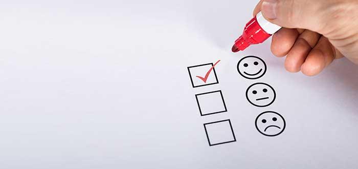Ejemplo de encuesta de calidad en el servicio