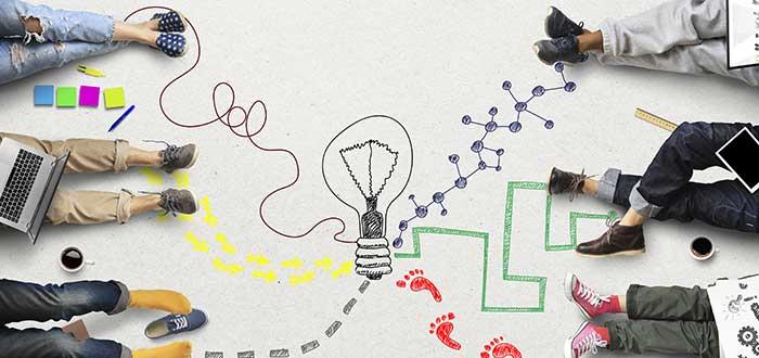 Emprendedores concretando ideas