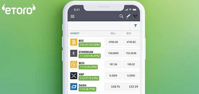 etoro-una de las apps para invertir en bolsa