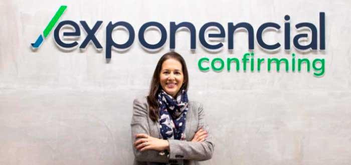 María Camila Muñoz fundadora de Exponencial Confirming