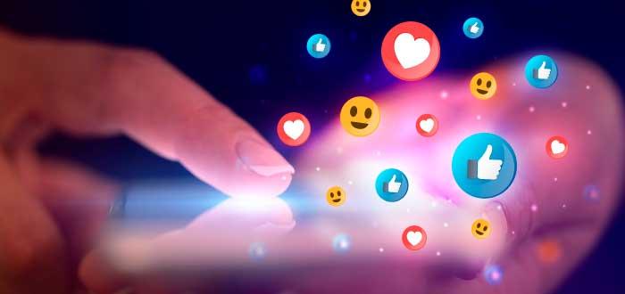 reaccione sy emojis de redes sociales