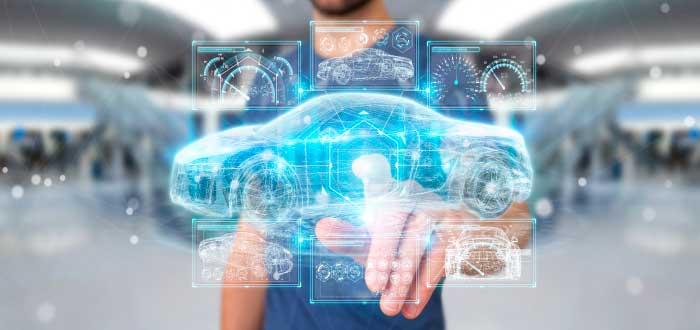 coche autónomo eléctrico