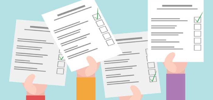 cuestionarios con la escala de Likert