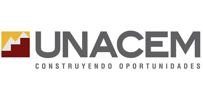 Logo de Unacem, una de las empresas peruanas exitosas