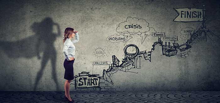 Mujer emprendedora enfrenta desafios