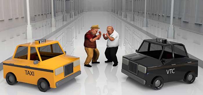Taxis vs VTC