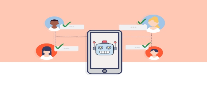 Sabemos que el uso de chatbots no reemplaza al 100% la atención humana. A menudo se considera que los chatbots son complicados y que necesitan mucho tiempo para entender lo que quiere el cliente
