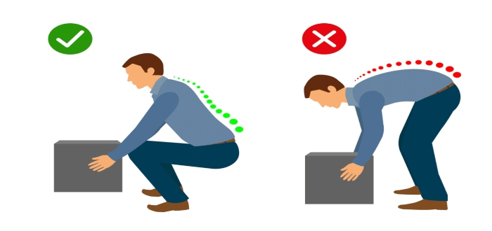 Toma las medidas correctas para prevenir los riesgos ergonómicos