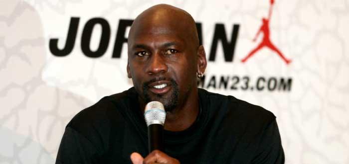 Michael Jordan en conferencia