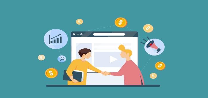 Marketing de afiliados para ganar dinero en línea