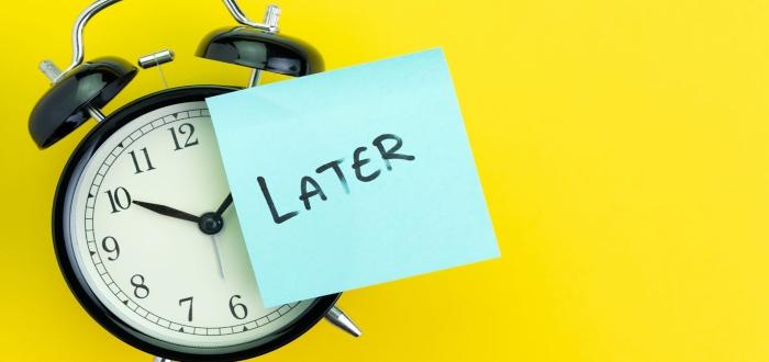 Desventajas de procrastinar